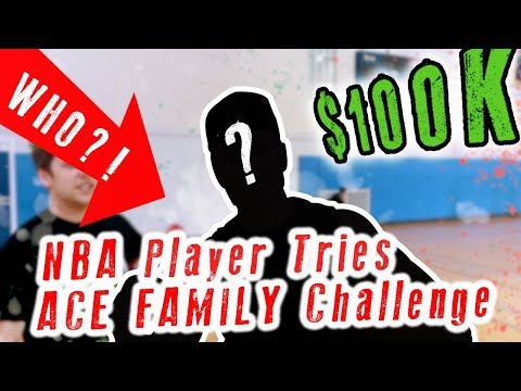NBA Player Tries ACE Family $100k Challenge!