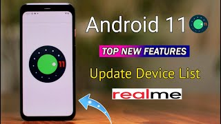 Android 11 Update For Realme Devices | Android 11 Features | Realme UI 2.0 | Android 11 Device List