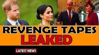 Meghan Markle's revenge tapes leaked