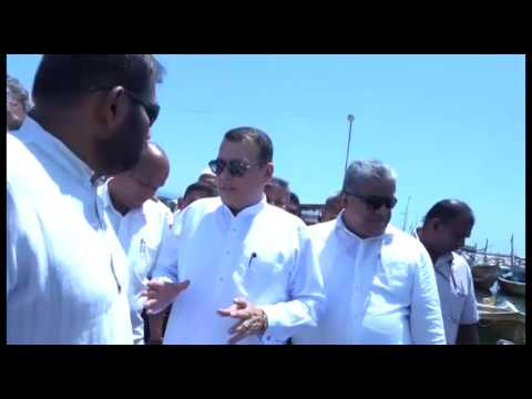 MINISTER OF PORTS AND SHIPPING VISITS OLUWIL PORT