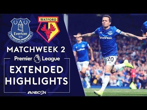 Everton v. Watford   PREMIER LEAGUE HIGHLIGHTS   8/17/19   NBC Sports