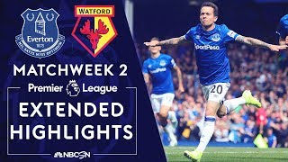 Everton v. Watford | PREMIER LEAGUE HIGHLIGHTS | 8/17/19 | NBC Sports