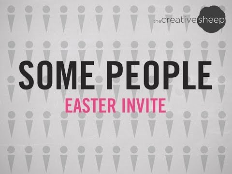 Some People - Easter Invite - YouTube