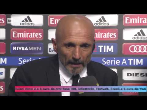 INTERVISTA SPALLETTI POST MILAN-ROMA 1-4