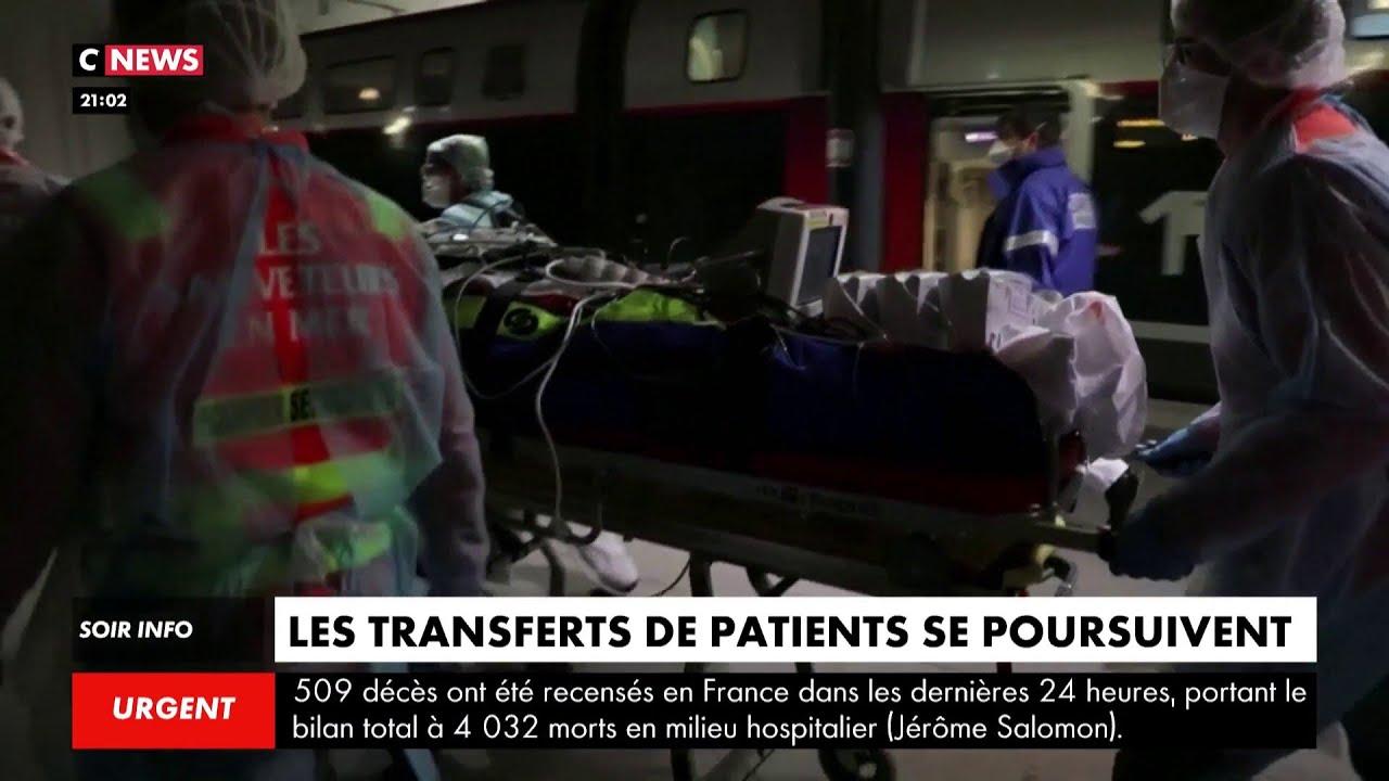 Premier transfert réussi de patients franciliens vers la Bretagne