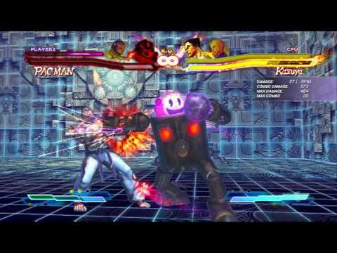 Street Fighter X Tekken - Mega Man & Pac-Man Combo Video