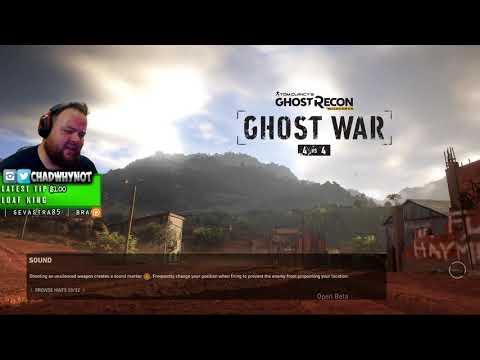 Ghost Recon Wildlands - PvP Beta LAST NIGHT! - Twitch Stream