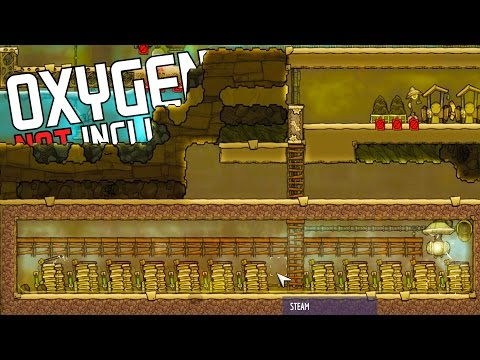 THE STEAM ROOM! Easy Clean Water, Edge of the Map! - Oxygen Not Included Gameplay Highlights Part 15