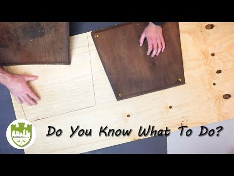 Part 3: How To Repair And Reupholster Dining Room Chairs - Replacing Dining Room Chair Seat Board
