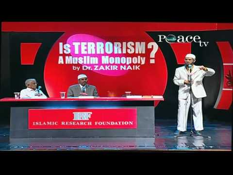 A lecture about Terrorism