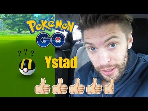 Pokemon Go på Svenska i Ystad