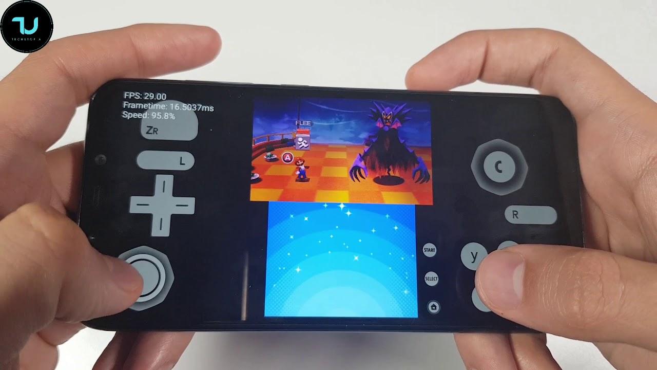 Mario Luigi Dream Team Citra Android 3ds Emulator Gameplay