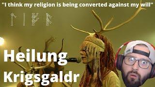 "HEILUNG - ""Krigsgaldr"" | First Time Hearing | WHAAAAAAA"