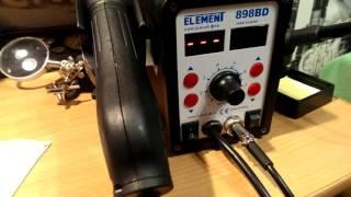Брак паяльной станции(Не работает изменение температуры на фене., 2015-11-13T15:24:13.000Z)