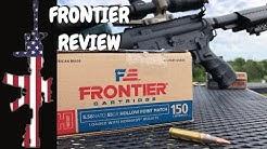 Hornady 5.56 Frontier 55 gr HP Match