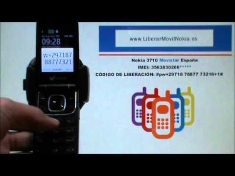 Liberar Nokia 3710 Movistar