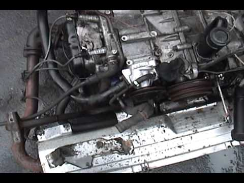 1991 Volkswagen Vanagon - engine swap: part 3 - cleaning