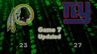 The Redskins vs The Giants Game 7 [NEO] - 10-21-2012.mov
