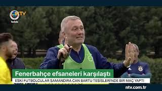 Fenerbahçe'nin efsane isimleri maç yaptı