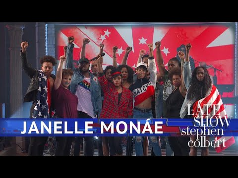 Janelle Monáe Performs 'Americans'