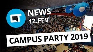 Galaxy S10 aparece sem notch em imagens da Samsung; Começou a Campus Party 2019 e+ [CT News]
