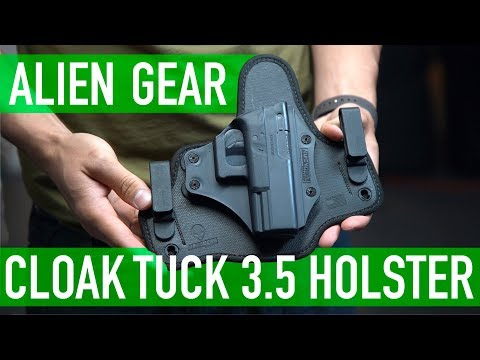 $50 Simple, Comfortable, Reliable IWB Holster | Alien Gear Cloak Tuck 3.5 Holster Review