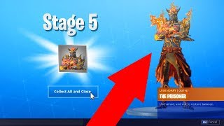 How To UNLOCK STAGE 5 The Prisoner Skin! STAGE 5 PRISONER SKIN LOCATION in Fortnite! (Fortnite)