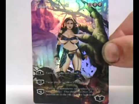 Liliana Of The Veil New Design Foil Youtube