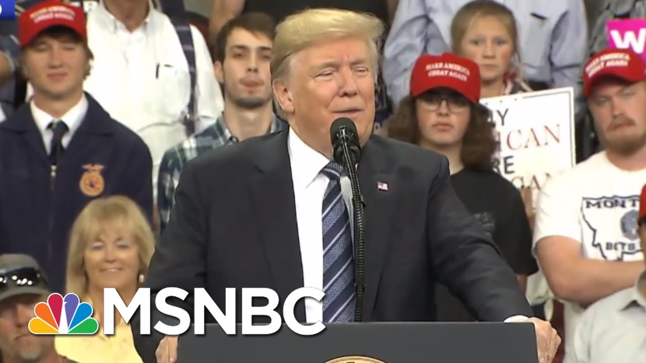 President Donald Trump Talks Impeachment, His Own Mental Health | The Last Word | MSNBC
