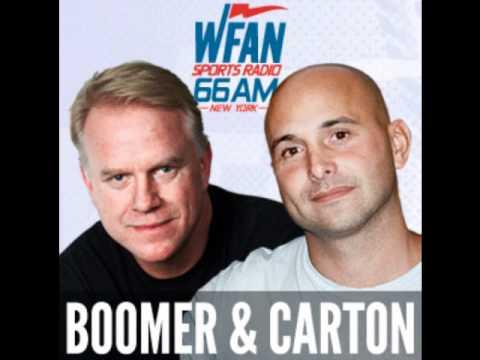 Boomer and Carton 8/18/11 - Al Dukes' song on Mark Sanchez