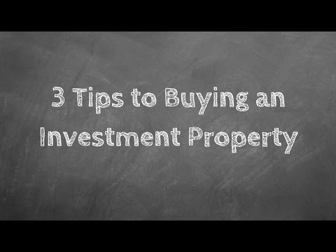 3 Tips to Buying an Investment Property in Lancaster PA