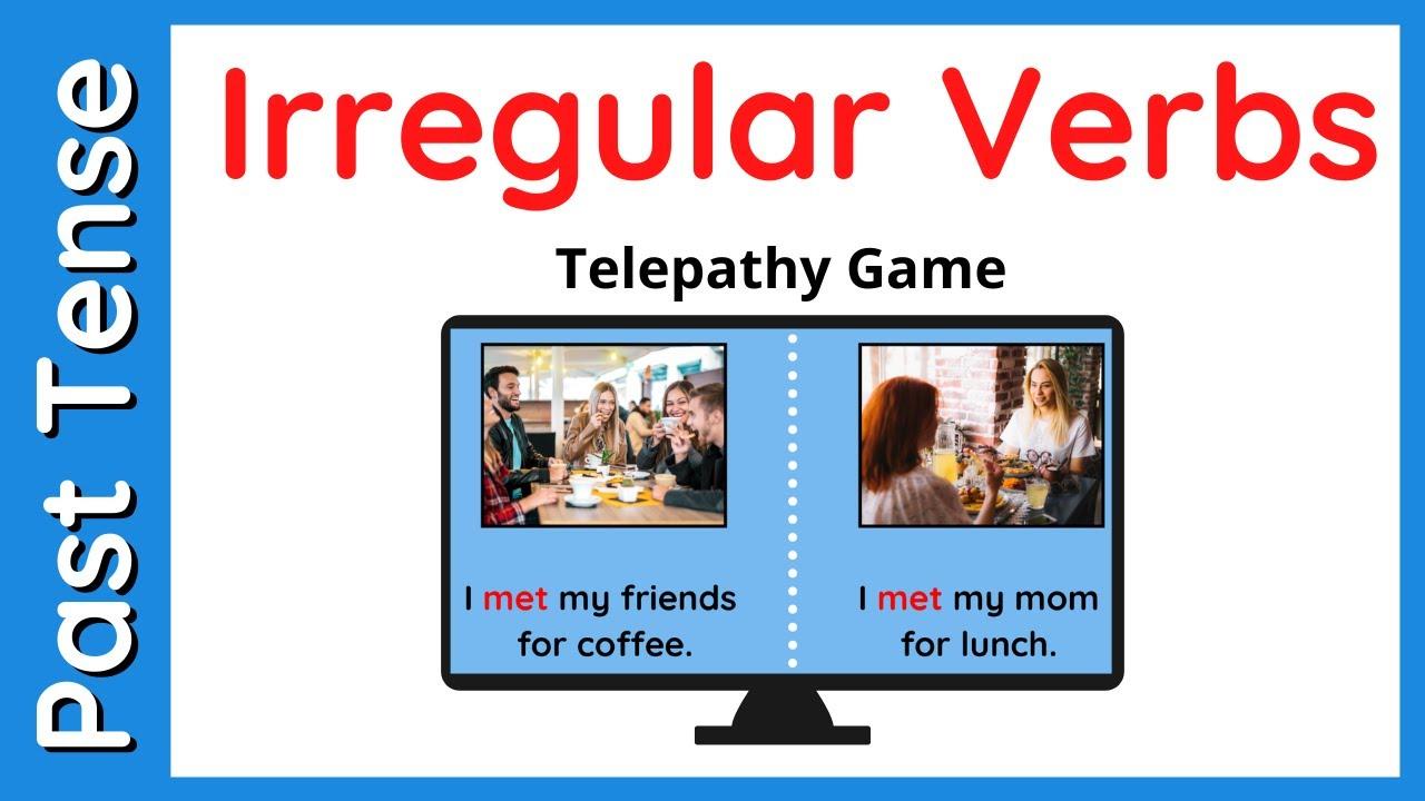 Irregular Verbs Activity   Past Tense - YouTube [ 720 x 1280 Pixel ]