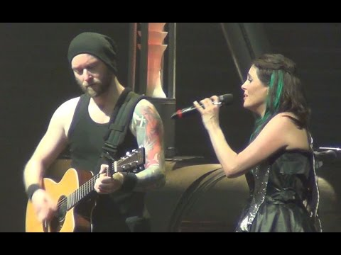 Within Temptation - Whole World Is Watching (Acoustic) Live Paris Le Zénith 2014