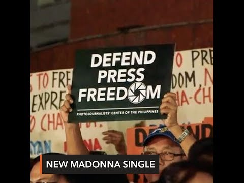 Free download lagu Mp3 In Madonna's music video, Maria Ressa and PH fight for press freedom online