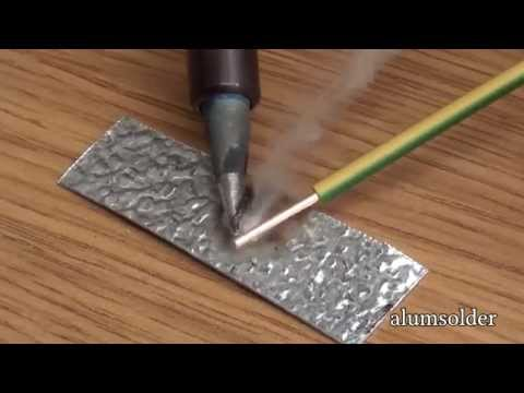 AlumSolder Alu Flux - use solder and soldering iron to join aluminium, aluminium soldering