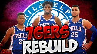 2 CHAMPIONSHIPS IN 3 YEARS! NBA 2K19 PHILADELPHIA 76ERS REBUILD!
