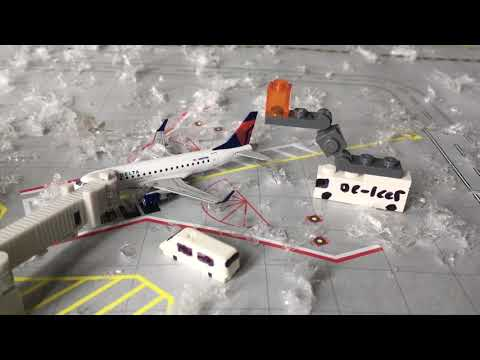 Gemini Jets Snow Airport Update Christmas Special!