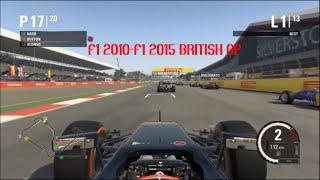 f1 2010- 2015 british gp silverstone mclaren
