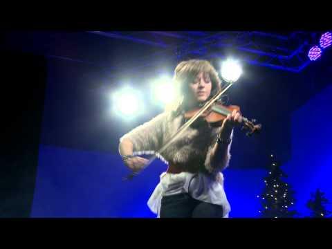 Lindsey Stirling- Christmas Medley Celtic Carol LIVE at Rock Canyon Studios