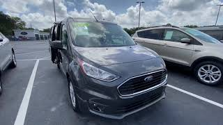 Let's Go Look at a 2019 Ford Transit Connect XLT Van   So much room!