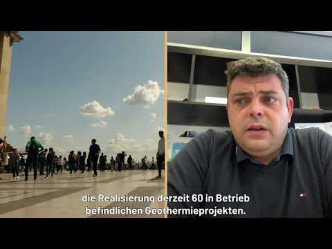 (DE) Risk insurance is a must to develop large geothermal projects