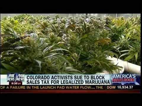 Colorado Activists Sue To Block Sales Tax For Legalized Marijuana - America's Newsroom