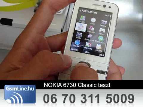 NOKIA 6730 Classic Teszt | www.GsmLine.hu