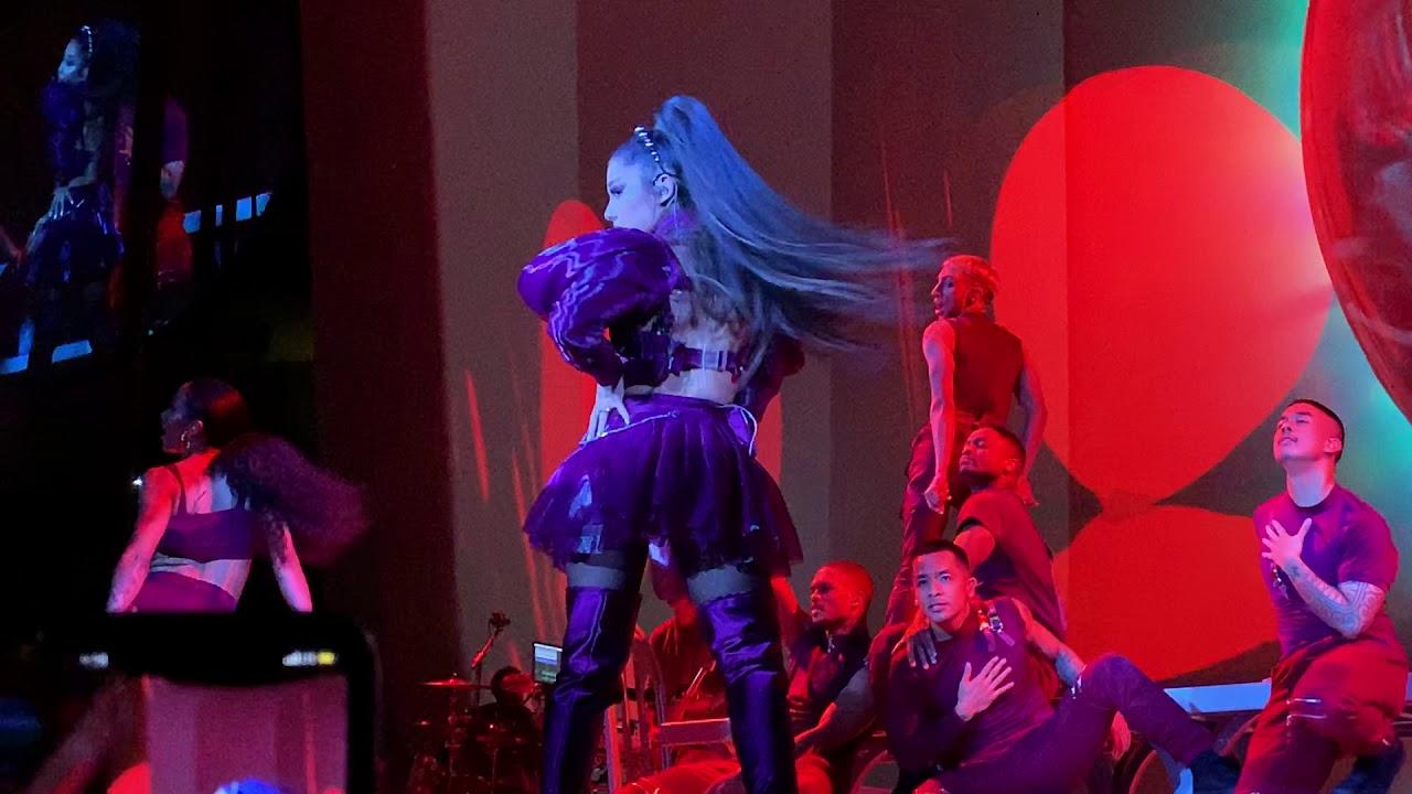 Ariana Grande Bad Idea Live Sweetener Tour San Jose