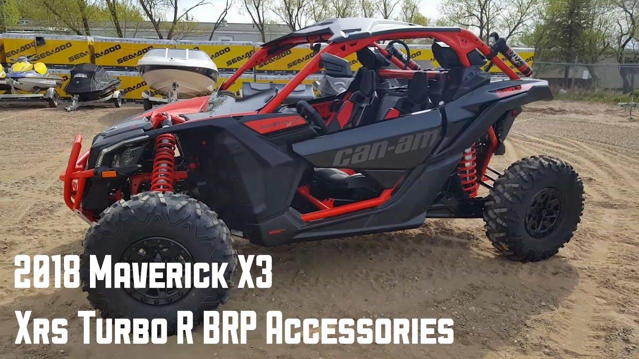 2018 Can-am Maverick X3 XRS Turbo R BRP Accessories