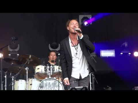 "WORK OF ART ""Can't Let Go"" Live at Vasby Rock Festival 2015"