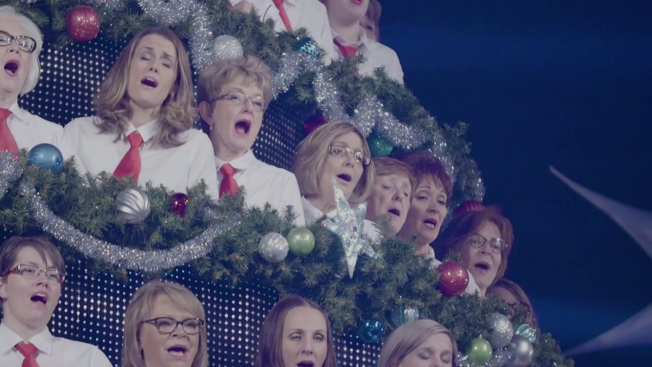 Edmonton Singing Christmas Tree 2016 Highlight