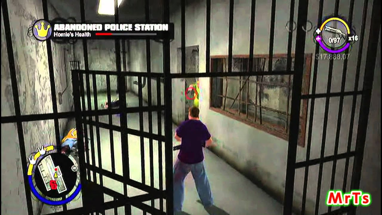 Saints Row Vice Kings Stronghold 3 Abandoned Police