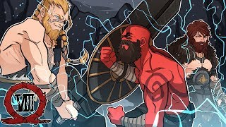 Download Video FIGHTING THE SONS OF THOR ! | God of War (Live Stream Episode 8) MP3 3GP MP4