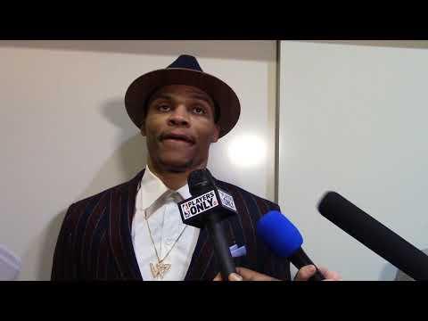 Russell Westbrook Postgame Locker Room Interview 3-6-18